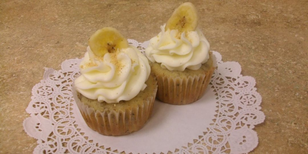 Cupcake Banana Cream Cupcakes