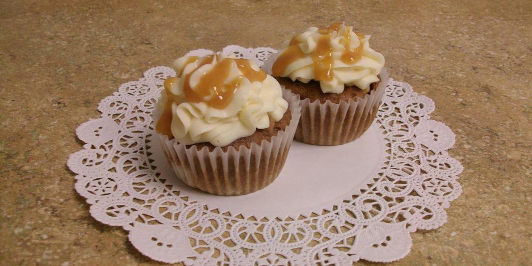 Cupcake Caramel Apple Cupcakes